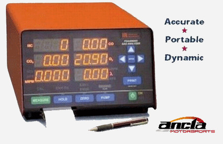 DC 5 Gas Analyzer